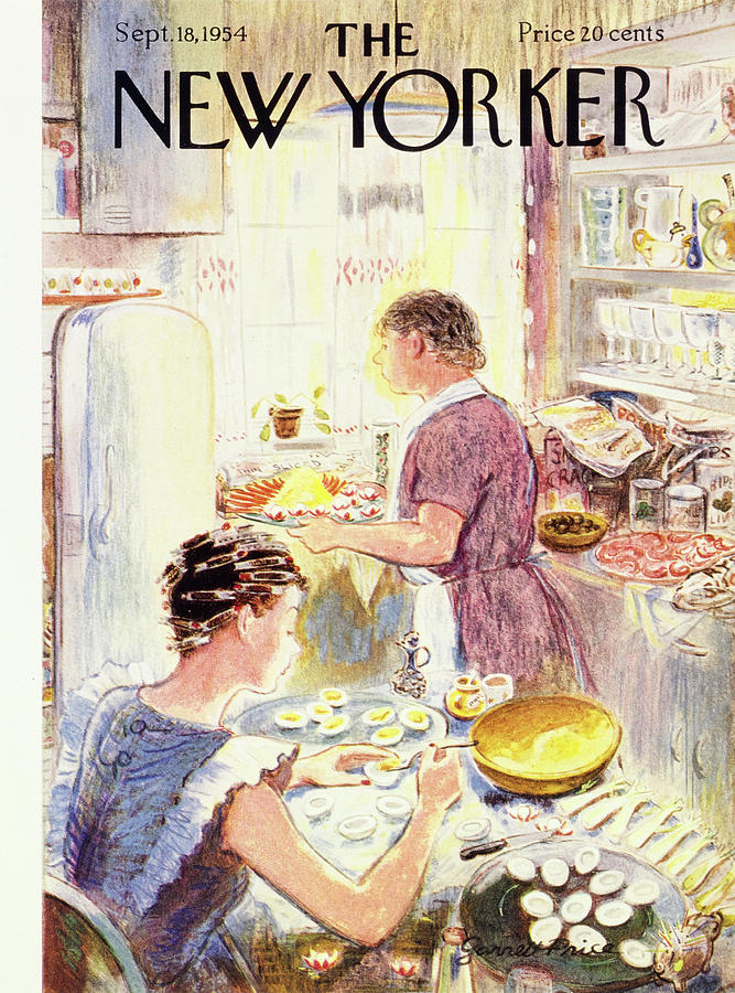 New Yorker September 18 1954 Painting by Garrett Price