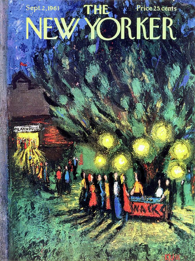 New Yorker September 2 1961 Drawing by Robert Kraus