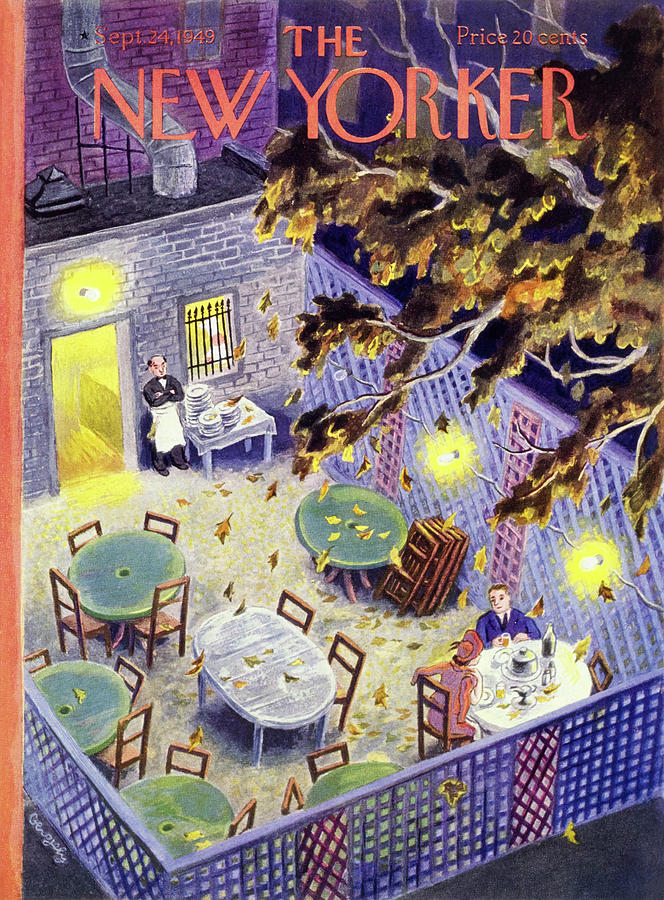 New Yorker September 24 1949 Painting by Tibor Gergely