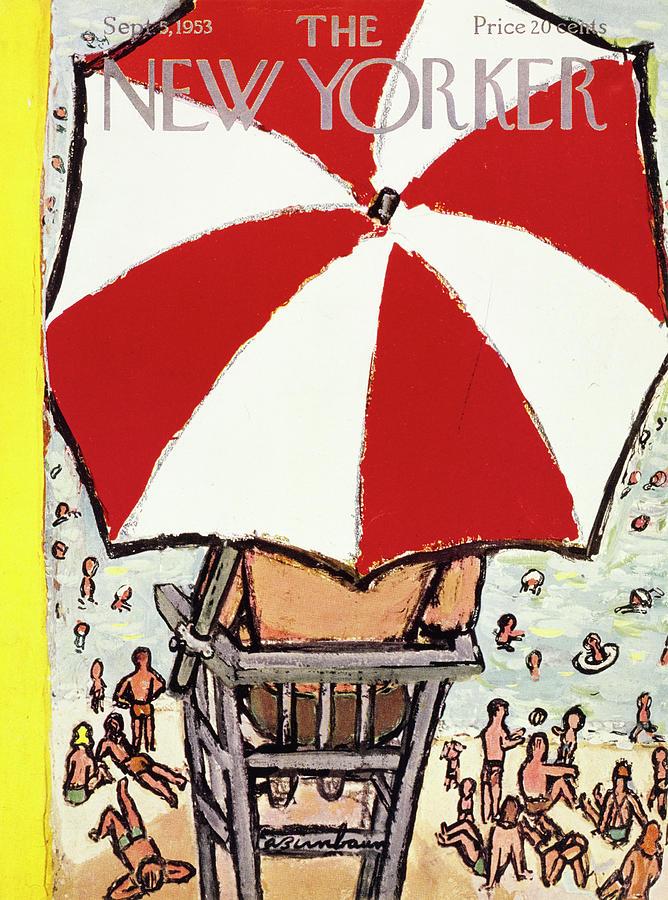 New Yorker September 5 1953 Painting by Abe Birnbaum