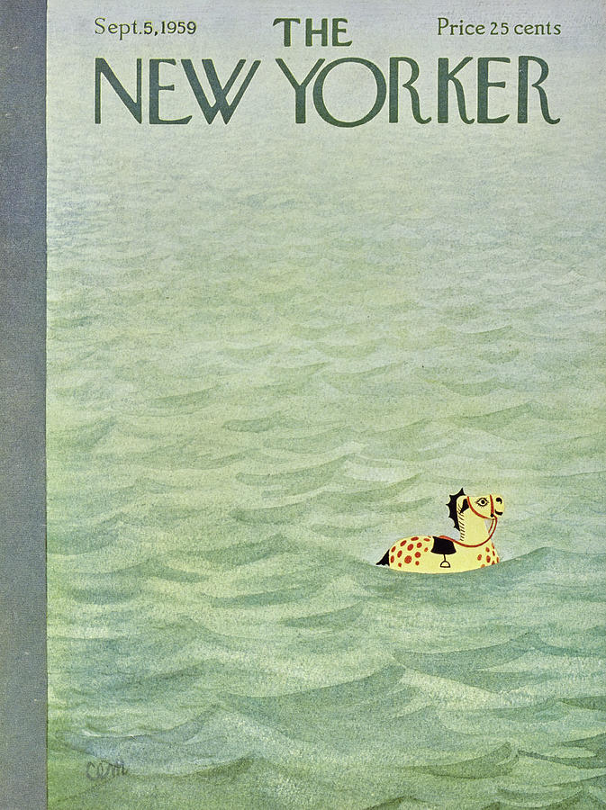 New Yorker September 5 1959 Painting by Charles E Martin