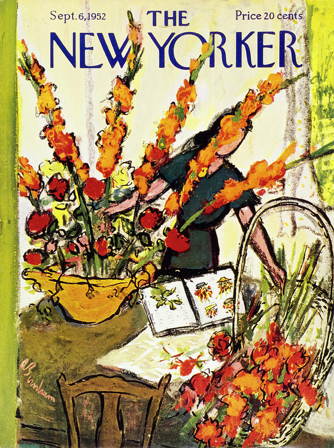 New Yorker September 6 1952 Painting by Abe Birnbaum