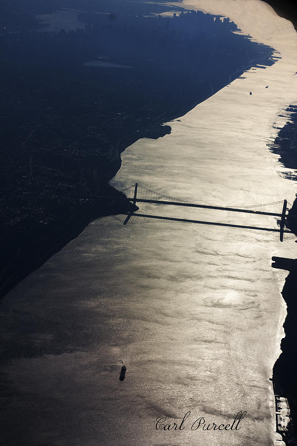 River Photograph - New Yorks East River by Carl Purcell