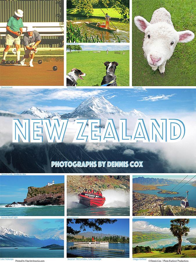New Zealand Poster Photograph