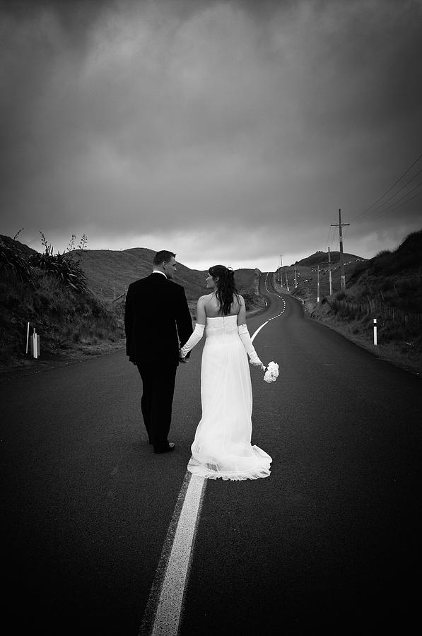 New Zealand Wedding Photograph by Kelly Newland