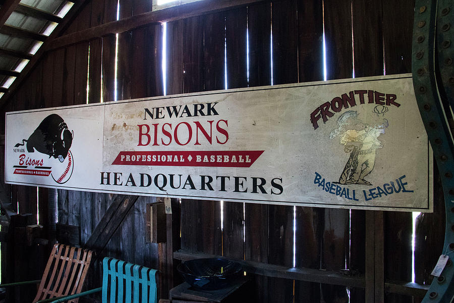 Digital Photograph - Newark Bisons by Jeff Roney