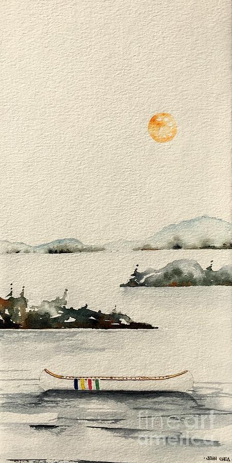 Newboro Lake by John Shea BFA