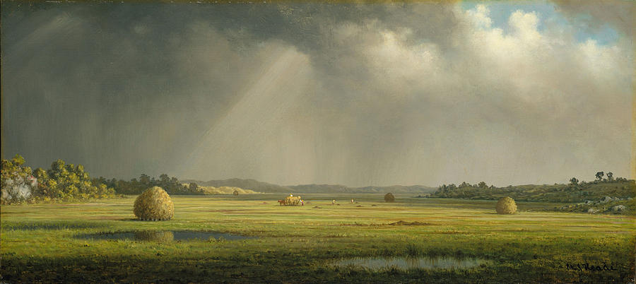 Martin Heade Digital Art - Newburyport Meadows by Martin Heade