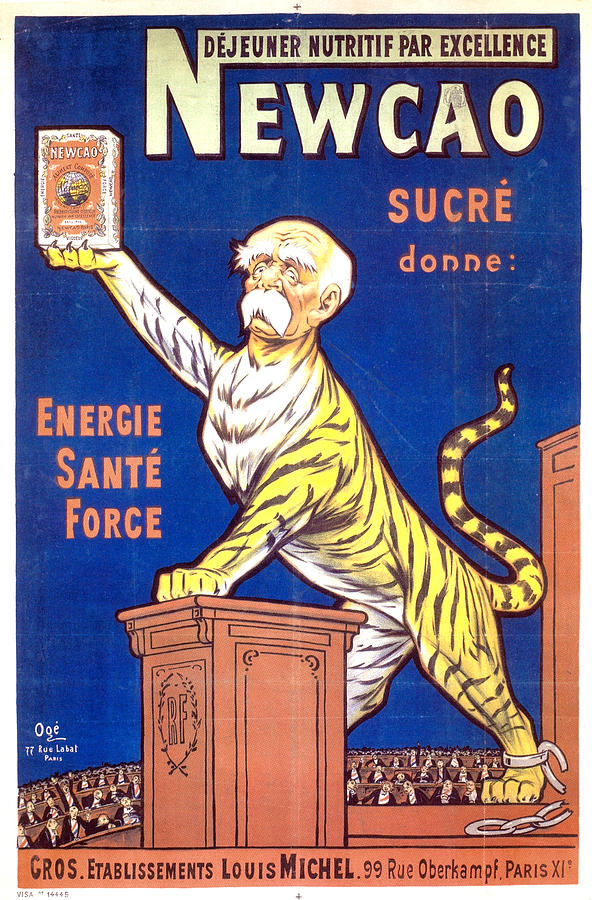 Newcao - Energy Health Strength - Vintage Advertising Poster Mixed Media
