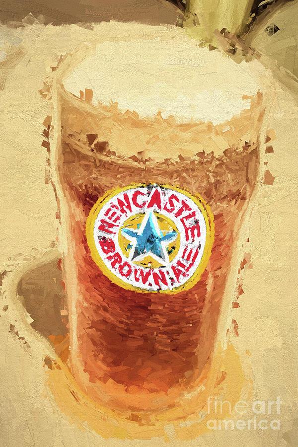 Newcastle Brown Ale Digital Artwork Photograph by Jorgo Photography ...