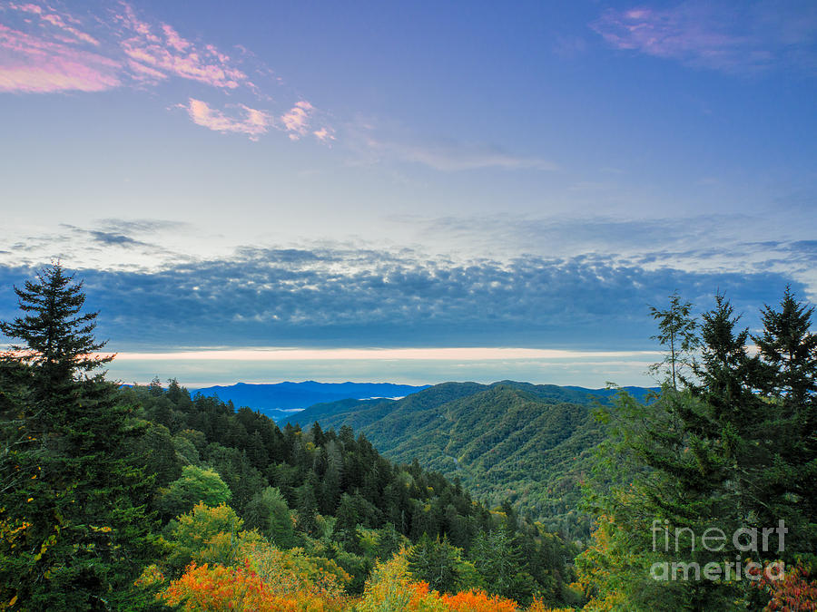 Great Smoky Mountains Photograph - Newfound Gap. by Itai Minovitz