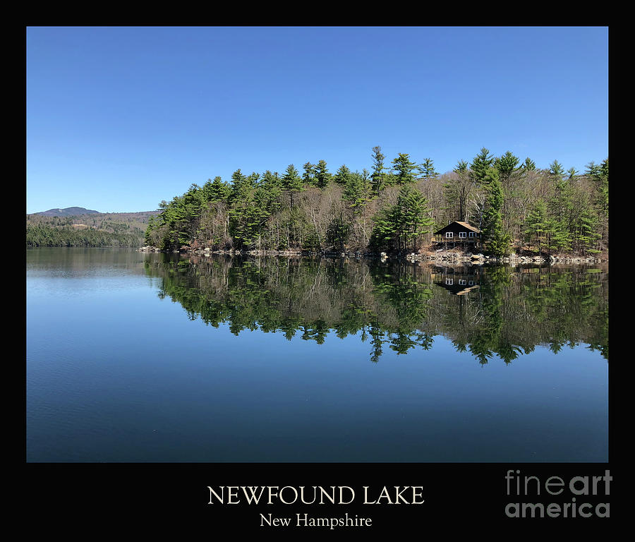 Lake Photograph - Newfound Lake Reflections by Christine Segalas