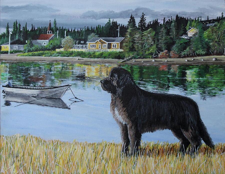 Newfoundland Painting - Newfoundland in Labrador by Thom Barker