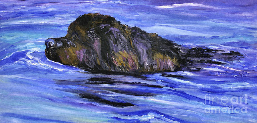 Newfoundland Painting - Newfoundland Oil Painting by Mary Jo Zorad