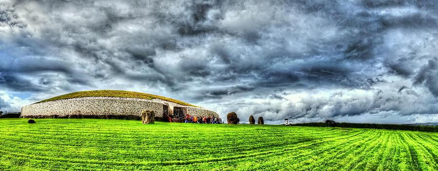 Co Armagh Photograph - Newgranges Rolling Thunder by Kim Shatwell-Irishphotographer