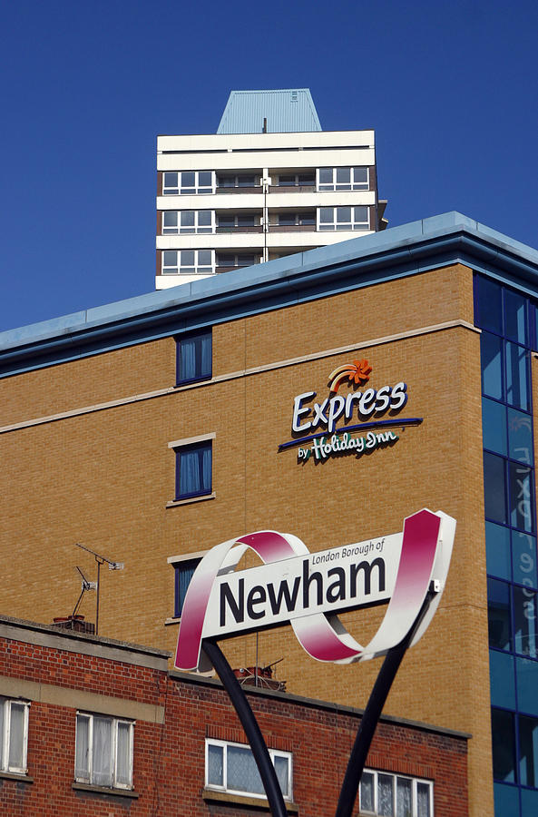 Photographer Photograph - Newham Express by Jez C Self