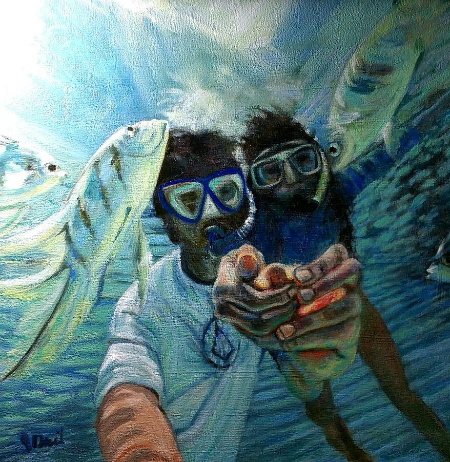 Honeymoon Selfie by J Reynolds Dail
