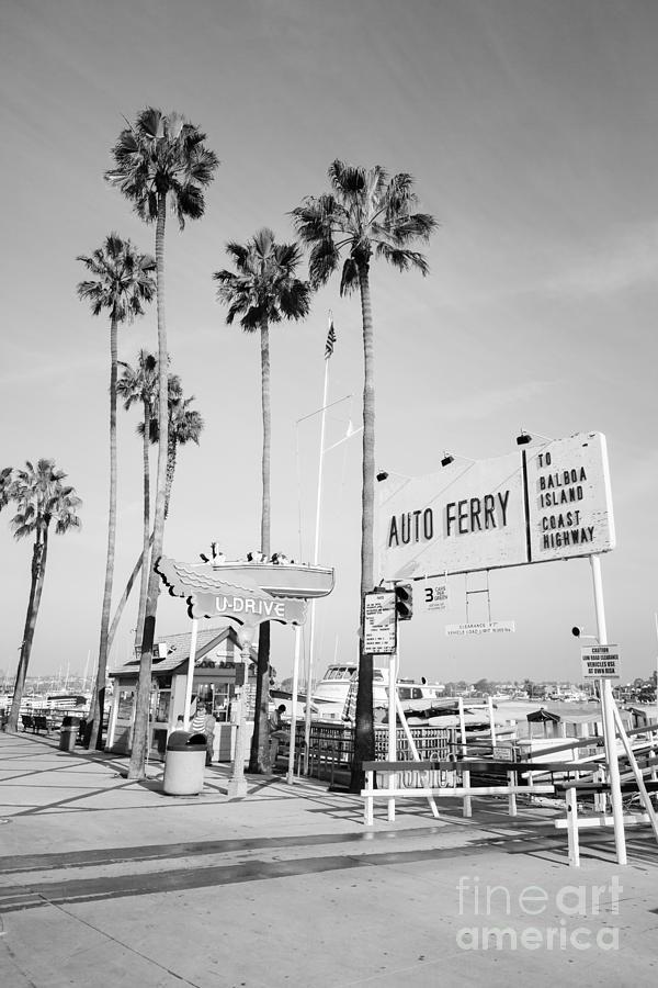 Newport Beach Ferry Entrance Photo Photograph