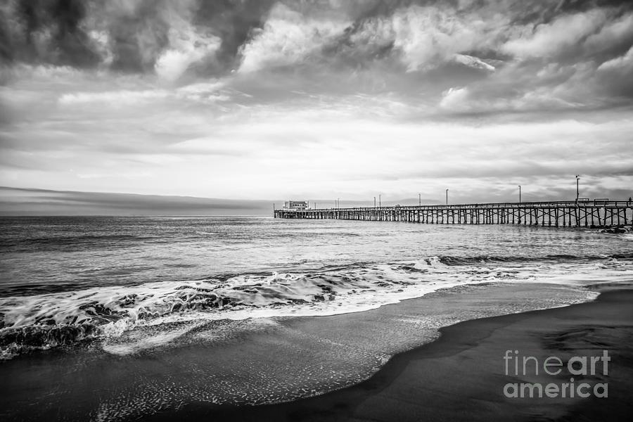 Newport Beach Pier In Newport Beach California Photograph