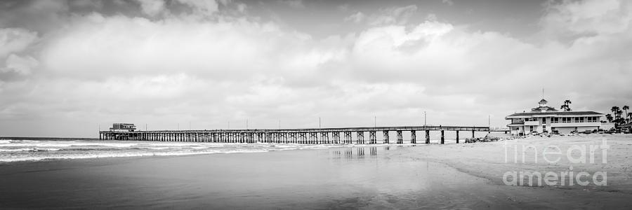 Newport Beach Pier Panorama Photo Photograph