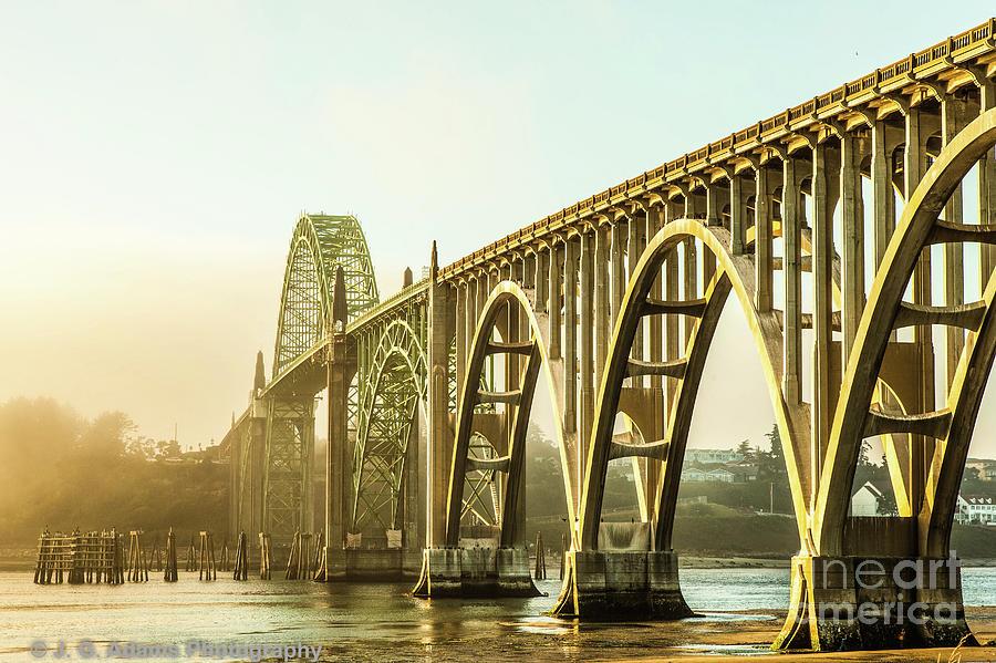 Newport Bridge by Jim Adams