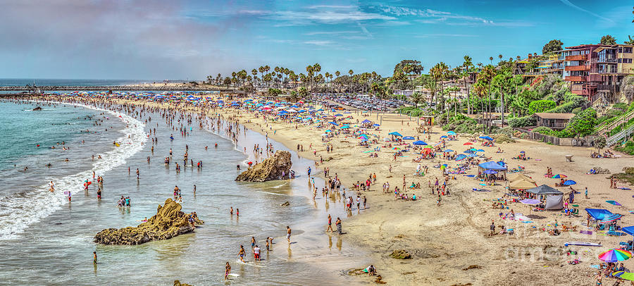 Newport Corona Beach Photograph