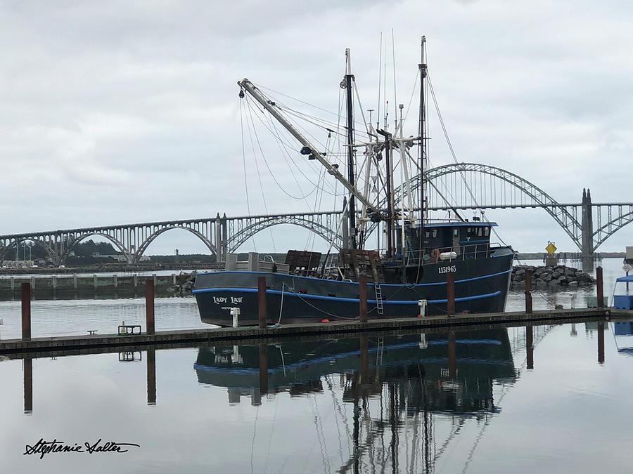Newport Harbor by Stephanie Salter