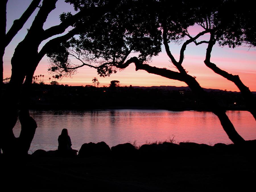 Newport Sunset by Jan Piet