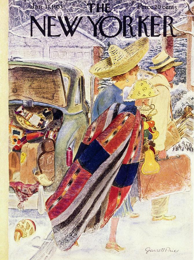 NewYorker January 31 1953 Mixed Media by Garrett Price
