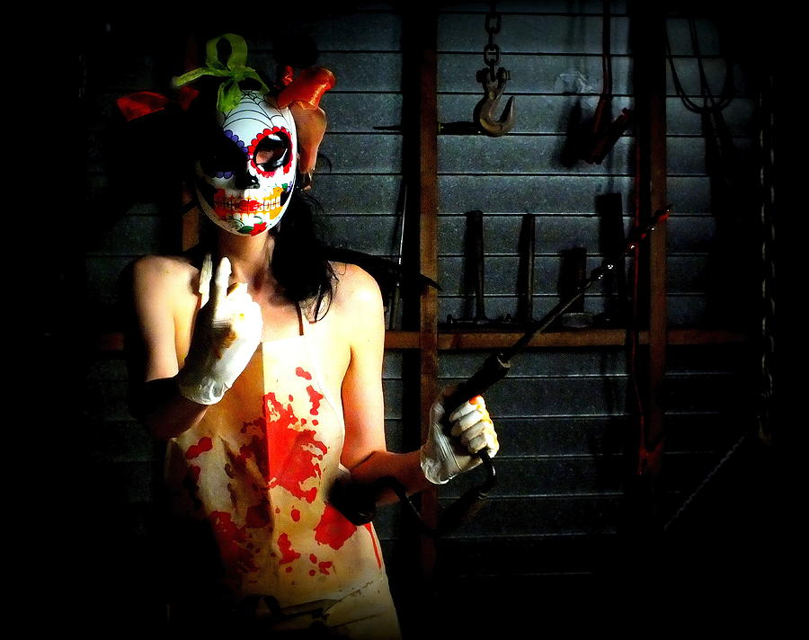 Horror Photograph - Next Patient Please by Guy Pettingell