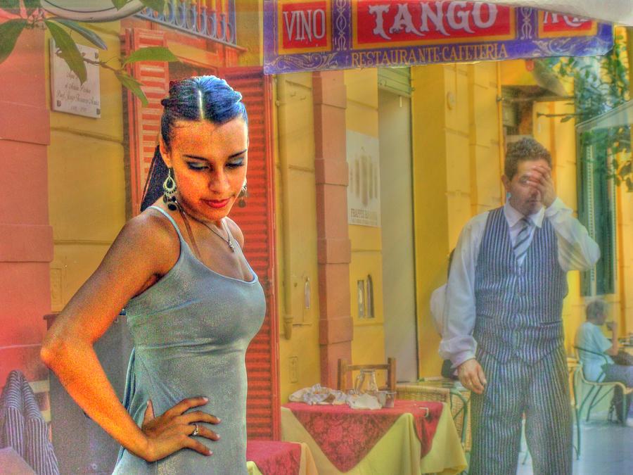 Tango Photograph - Next Steps by Francisco Colon