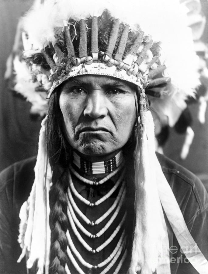 1910 Photograph - Nez Perce Native American - To License For Professional Use Visit Granger.com by Granger