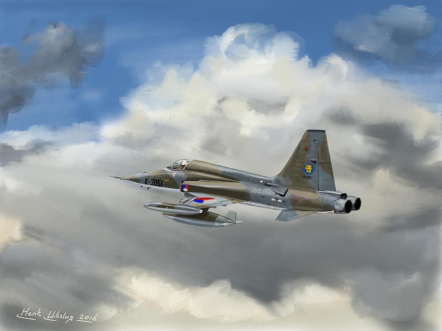 Nf5 Klu Sqr 315 Digital Art By Henk Uitslag