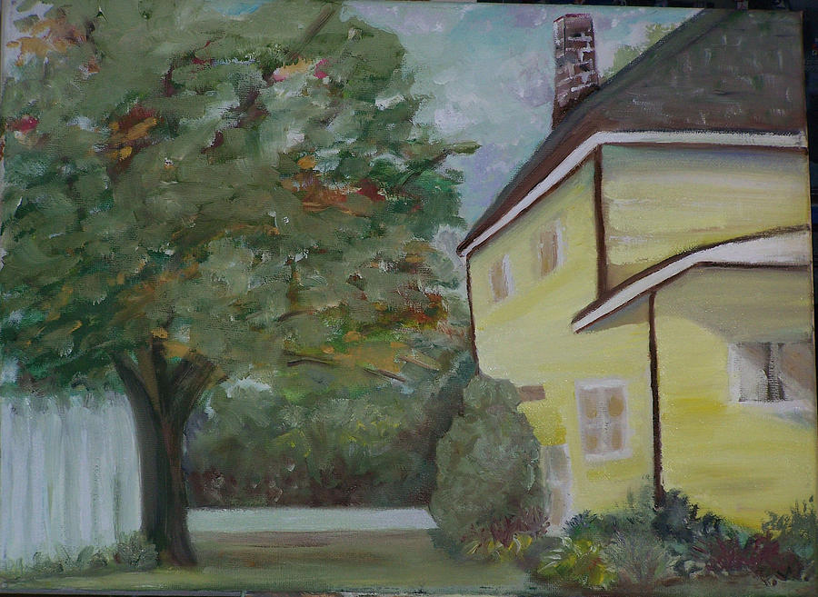 Oil Painting Painting - Nh Home  by Pamela Wilson