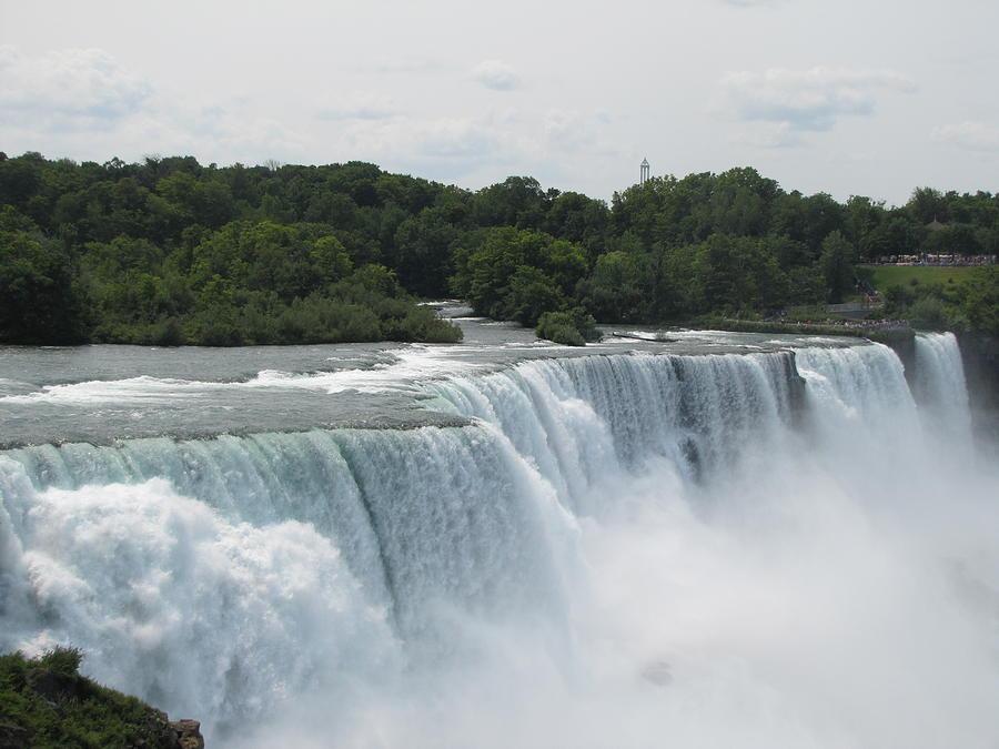 Nature Photograph - Niagara Falls by Bernadette Gengler