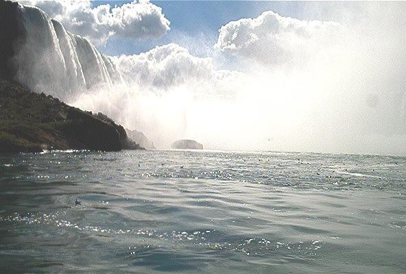 Landscape Photograph - Niagara Falls by Debbie Levene