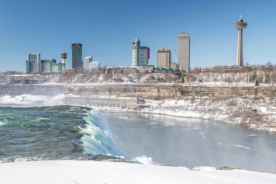 Usa Photograph - Niagara Falls by Framing Places