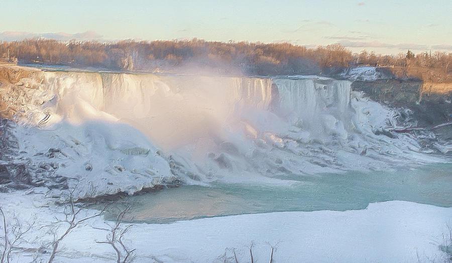Canada Photograph - Niagara Falls In Wintertime by Garvin Hunter