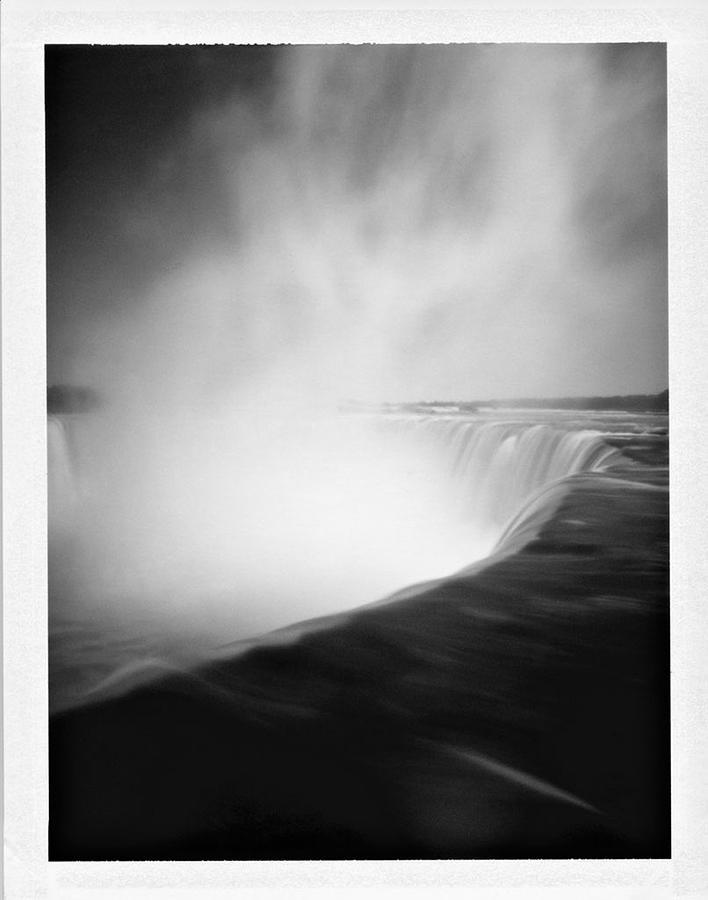 Pinhole Photograph - Niagara Falls by Luca Baldassari