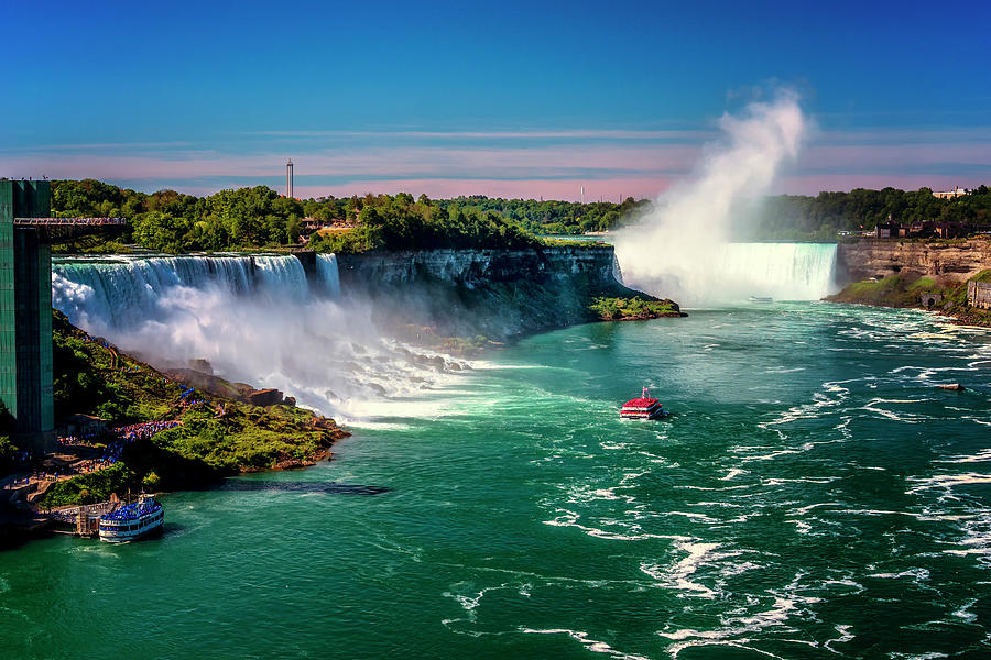 New York Photograph - Niagara Falls Maid Of The Mist_dsc8712_16 by Greg Kluempers