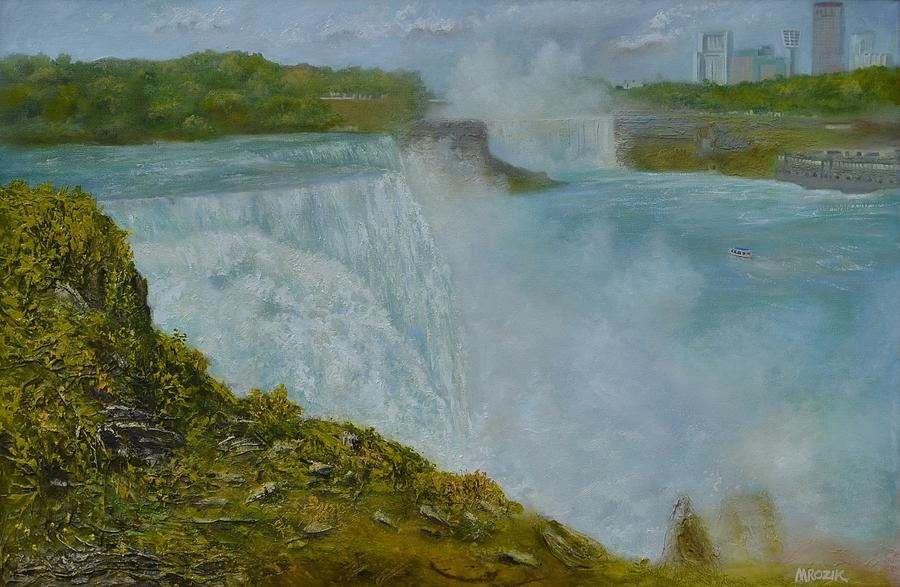 Niagara Falls New York Painting