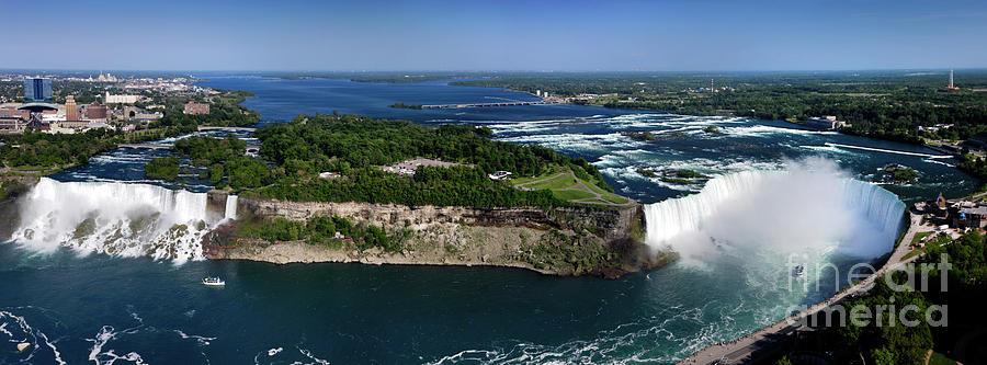 Niagara Falls Photograph - Niagara Falls by Oleksiy Maksymenko