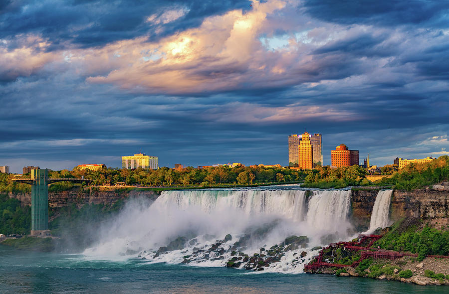 Niagara Falls Photograph - Niagara Falls - The American Side 3 by Steve Harrington