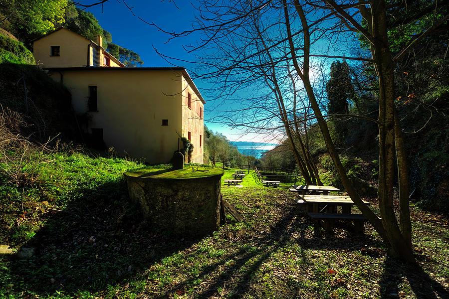 Author Photograph - Niasca Hermitage I Portofino Park Passeggiate A Levante by Enrico Pelos