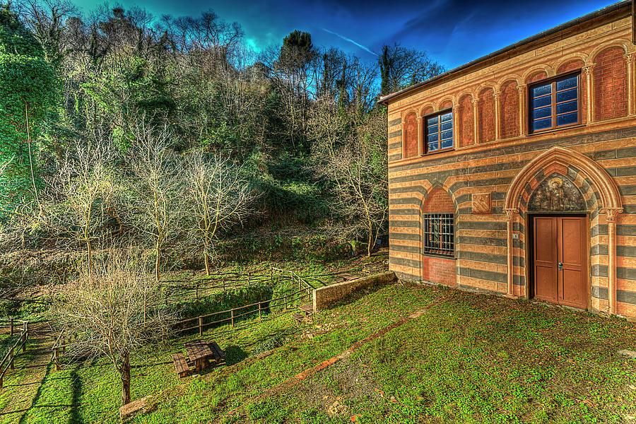 Alba Photograph - Niasca Hermitage IIi Portofino Park Passeggiate A Levante by Enrico Pelos
