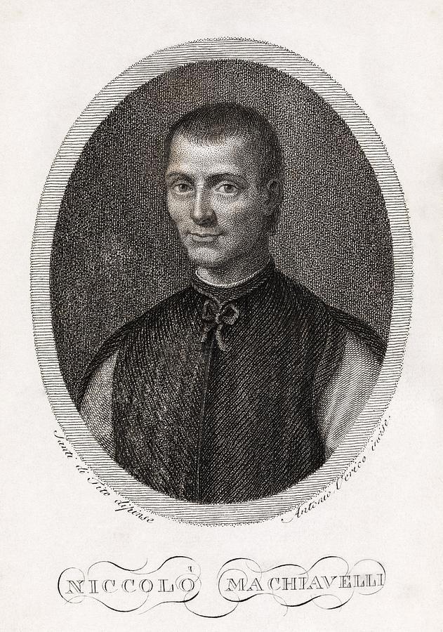 Niccolo Machiavelli Photograph - Niccolo Machiavelli, Italian Philosopher by Middle Temple Library