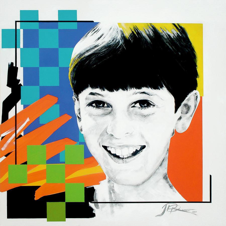 Portrait Painting - Nicholas by Jean Pierre Rousselet