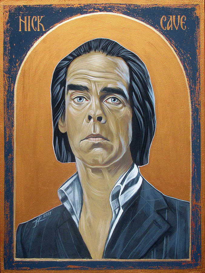 Nick Cave Painting - Nick Cave 3 by Jovana Kolic