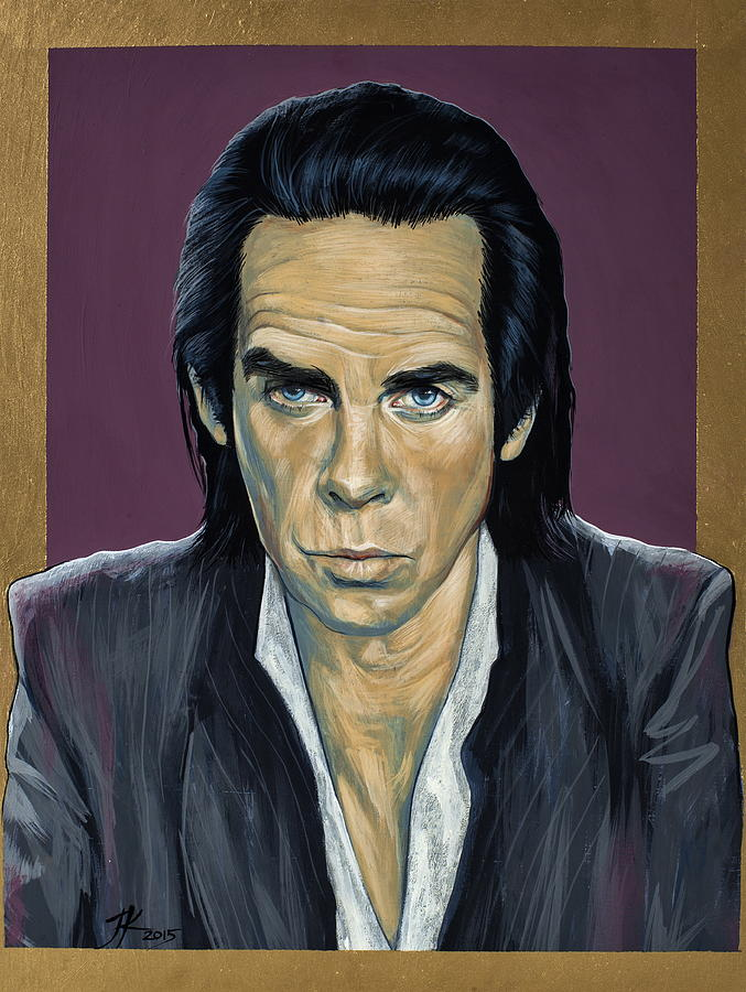 Nick Cave Painting - Nick Cave by Jovana Kolic