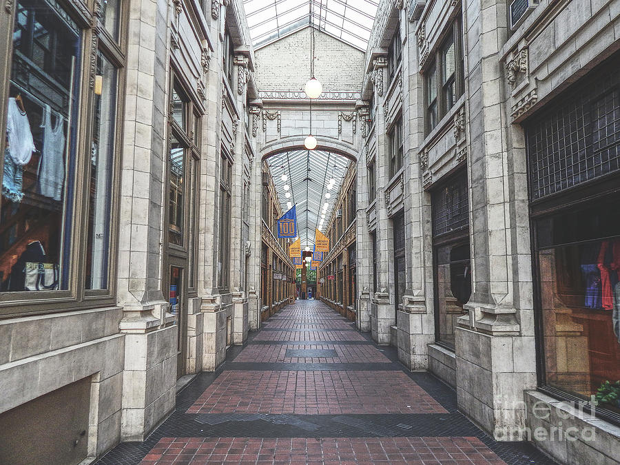 Nickels Arcade Photograph - Nickels Arcade by Phil Perkins